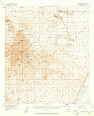 Twin Buttes, Arizona 1957 (1961) USGS Old Topo Map Reprint 15x15 AZ Quad 315142