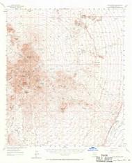 Twin Buttes, Arizona 1957 (1970) USGS Old Topo Map Reprint 15x15 AZ Quad 315141