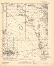 Vanar, Arizona 1928 (1928) USGS Old Topo Map Reprint 15x15 AZ Quad 464643