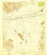Wellton, Arizona 1929 (1929) USGS Old Topo Map Reprint 15x15 AZ Quad 315176