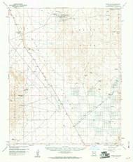 White Hills, Arizona 1960 (1961) USGS Old Topo Map Reprint 15x15 AZ Quad 315179