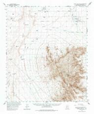 White Tank Mountains, Arizona 1957 (1976) USGS Old Topo Map Reprint 15x15 AZ Quad 315183