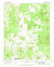 Williams, Arizona 1960 (1970) USGS Old Topo Map Reprint 15x15 AZ Quad 315187