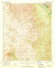 Winkelman, Arizona 1949 (1966) USGS Old Topo Map Reprint 15x15 AZ Quad 315194