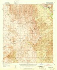 Winkelman, Arizona 1951 (1951) USGS Old Topo Map Reprint 15x15 AZ Quad 315197