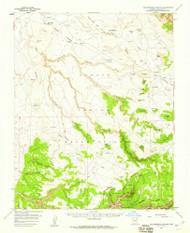 Yellowstone Canyon, Arizona 1955 (1959) USGS Old Topo Map Reprint 15x15 AZ Quad 315206