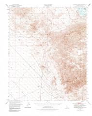 Sawtooth Range, California 1950 (1985) USGS Old Topo Map Reprint 15x15 AZ Quad 301649