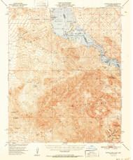 Whipple Mountains, California 1952 (1952) USGS Old Topo Map Reprint 15x15 AZ Quad 301977
