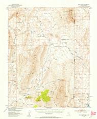 Gold Butte, Nevada 1953 (1955) USGS Old Topo Map Reprint 15x15 AZ Quad 320936