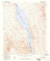 Spirit Mountain, Nevada 1959 (1960) USGS Old Topo Map Reprint 15x15 AZ Quad 321321