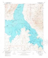 Virgin Basin, Nevada 1970 (1980) USGS Old Topo Map Reprint 15x15 AZ Quad 321406