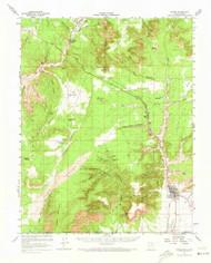 Kanab, Utah 1957 (1973) USGS Old Topo Map Reprint 15x15 AZ Quad 250094