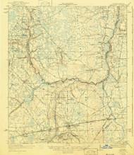 Macclenny, Florida 1918 (1940) USGS Old Topo Map Reprint 15x15 GA Quad 347300