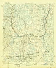 Macclenny, Florida 1918 (1946) USGS Old Topo Map Reprint 15x15 GA Quad 347301