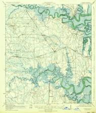 St Marys, Florida 1919 (1936) USGS Old Topo Map Reprint 15x15 GA Quad 348665