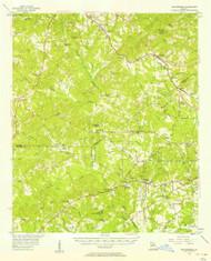 Bolingbroke, Georgia 1956 (1957) USGS Old Topo Map Reprint 15x15 GA Quad 247352