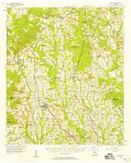 Doerun, Georgia 1956 (1958) USGS Old Topo Map Reprint 15x15 GA Quad 247421
