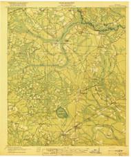 Hinesville, Georgia 1918 () USGS Old Topo Map Reprint 15x15 GA Quad 247478