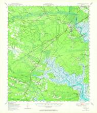 Limerick, Georgia 1948 (1964) USGS Old Topo Map Reprint 15x15 GA Quad 247501