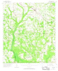 Sasser, Georgia 1956 (1968) USGS Old Topo Map Reprint 15x15 GA Quad 247554