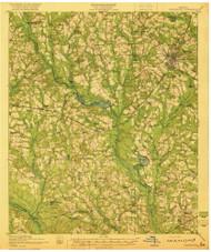 Statesboro, Georgia 1920 () USGS Old Topo Map Reprint 15x15 GA Quad 247564
