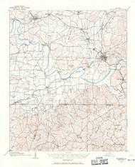 Stilesboro, Georgia 1906 (1971) USGS Old Topo Map Reprint 15x15 GA Quad 247569