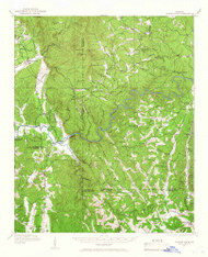 Talking Rock, Georgia 1914 (1966) USGS Old Topo Map Reprint 15x15 GA Quad 247578