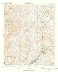 Warrenville, South Carolina 1923 (1965) USGS Old Topo Map Reprint 15x15 GA Quad 261976