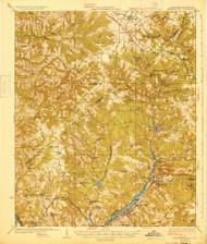 Warrenville, South Carolina 1928 () USGS Old Topo Map Reprint 15x15 GA Quad 261977