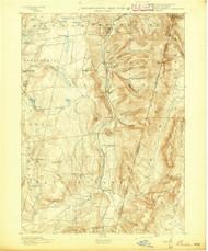 Berlin, New York 1894 (1894) USGS Old Topo Map Reprint 15x15 MA Quad 139230