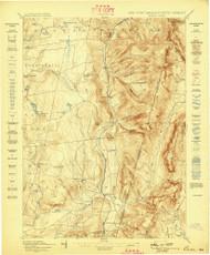 Berlin, New York 1898 (1898) USGS Old Topo Map Reprint 15x15 MA Quad 139231