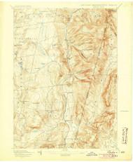Berlin, New York 1898 (1905) USGS Old Topo Map Reprint 15x15 MA Quad 139233