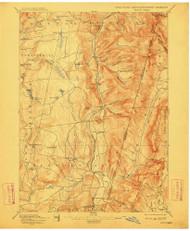 Berlin, New York 1898 (1912) USGS Old Topo Map Reprint 15x15 MA Quad 139235
