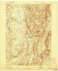 Berlin, New York 1898 (1921) USGS Old Topo Map Reprint 15x15 MA Quad 139236