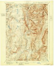 Berlin, New York 1898 (1932) USGS Old Topo Map Reprint 15x15 MA Quad 139238