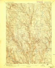 Chesterfield, Massachusetts 1895 (1895) USGS Old Topo Map Reprint 15x15 MA Quad 352565