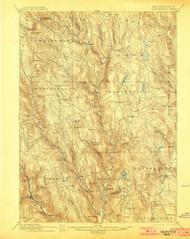 Chesterfield, Massachusetts 1895 (1900) USGS Old Topo Map Reprint 15x15 MA Quad 352566