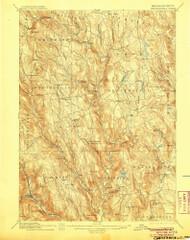 Chesterfield, Massachusetts 1895 (1905) USGS Old Topo Map Reprint 15x15 MA Quad 352567