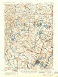 Haverhill, New Hampshire 1935 (1947) USGS Old Topo Map Reprint 15x15 MA Quad 330069