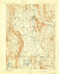 Sheffield, Massachusetts 1897 (1926) USGS Old Topo Map Reprint 15x15 MA Quad 353026