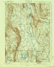 Sheffield, Massachusetts 1897 (1941) USGS Old Topo Map Reprint 15x15 MA Quad 353030