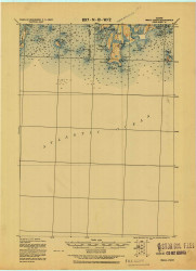 Small Point, Maine 1919 (1919) USGS Old Topo Map Reprint 15x15 ME Quad 807676