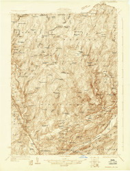 Bushkill, New Jersey 1924 USGS Old Topo Map 15x15 NJ Quad