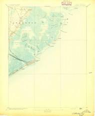 Atlantic City, New Jersey 1894 USGS Old Topo Map 15x15 NJ Quad