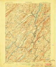 Franklin Furnace, New Jersey 1903 USGS Old Topo Map 15x15 NJ Quad