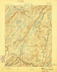 Greenwood Lake, New Jersey 1893 (1898) USGS Old Topo Map 15x15 NJ Quad