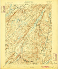 Greenwood Lake, New Jersey 1893 (1900) USGS Old Topo Map 15x15 NJ Quad
