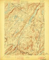 Greenwood Lake, New Jersey 1893 (1901) USGS Old Topo Map 15x15 NJ Quad