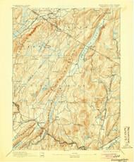 Greenwood Lake, New Jersey 1893 (1905) USGS Old Topo Map 15x15 NJ Quad