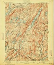 Greenwood Lake, New Jersey 1910 (1913) USGS Old Topo Map 15x15 NJ Quad
